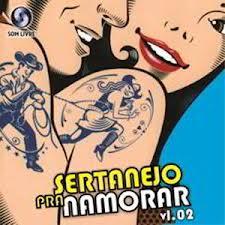 CD Sertanejo Pra Namorar Vol.2 (2012)