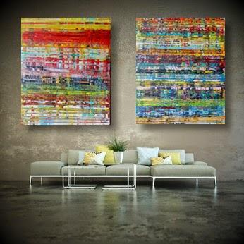 nouvelles toiles acrylique grand format