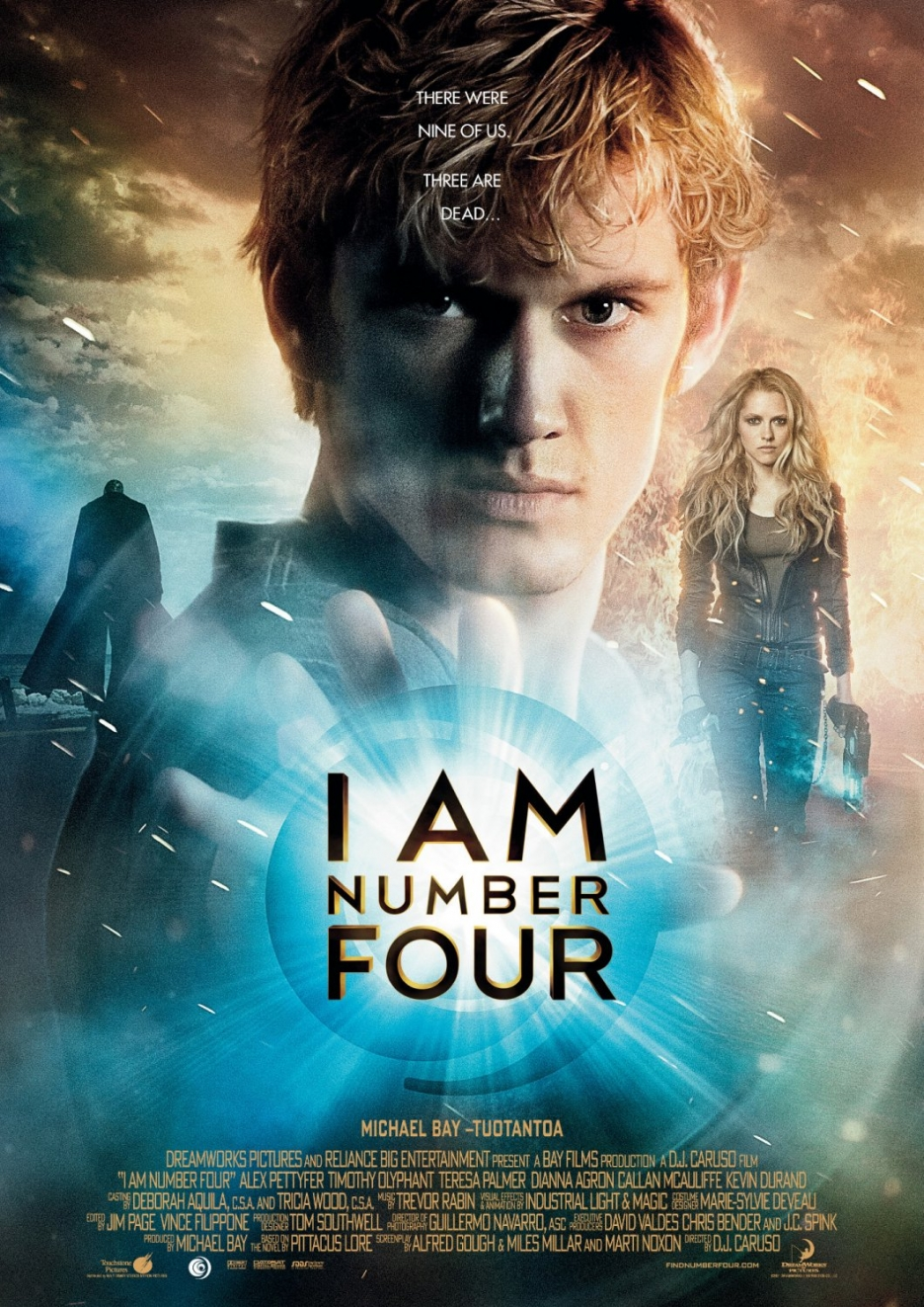 Judul film : I Am Number Four I Am Number Four Movie Poster