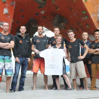 Dutch Climbing Team, Hans Busker, Blocbuster, Nederlands Team sportklimmen