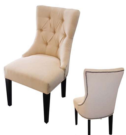 my gut you see i actually want upholstered chairs like these