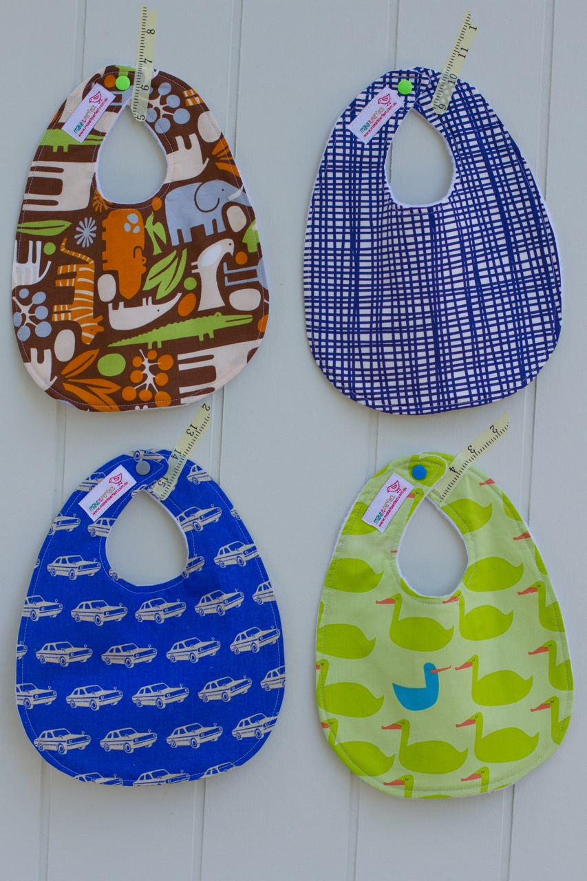 make it perfect Sewing for baby bibs and burp cloths