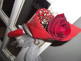 وردة سقتها من حب قلبي