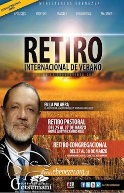 RETIRO DE PASTORES EBENEZER GUATEMALA INVITA: