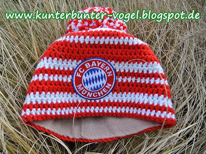 Kunterbunter Vogel Fc Bayern München Mütze