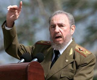 Fidel Castro dizendo que mais uma vez foi morto.