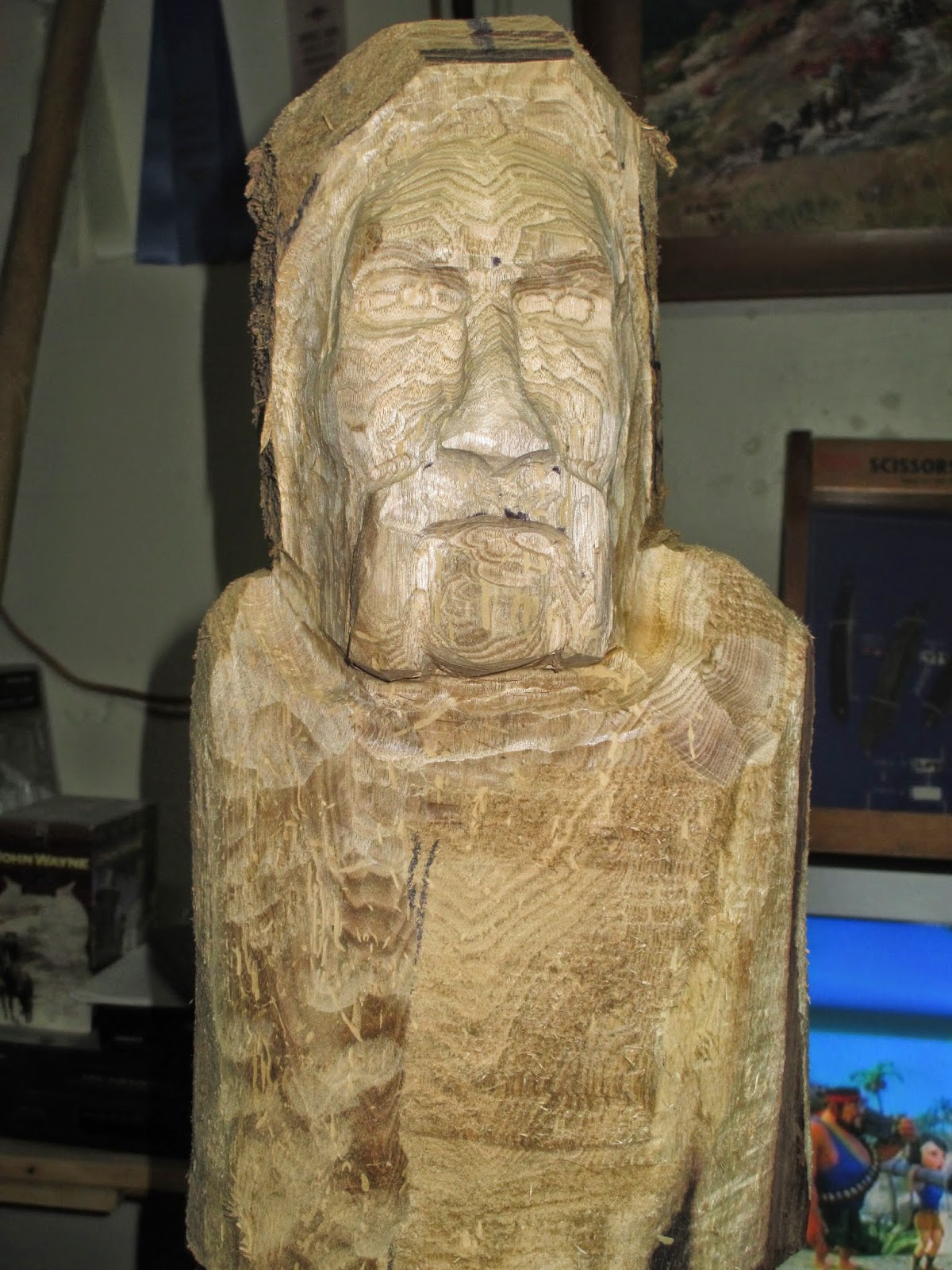 Carvings by george first carving of