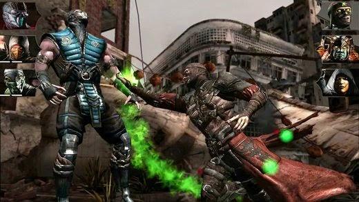 Mortal Kombat 10 para android 1 link