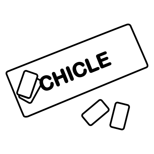 Chicle Para Colorear Mas Chocolate Para Dibujo De Maquina De Chicles