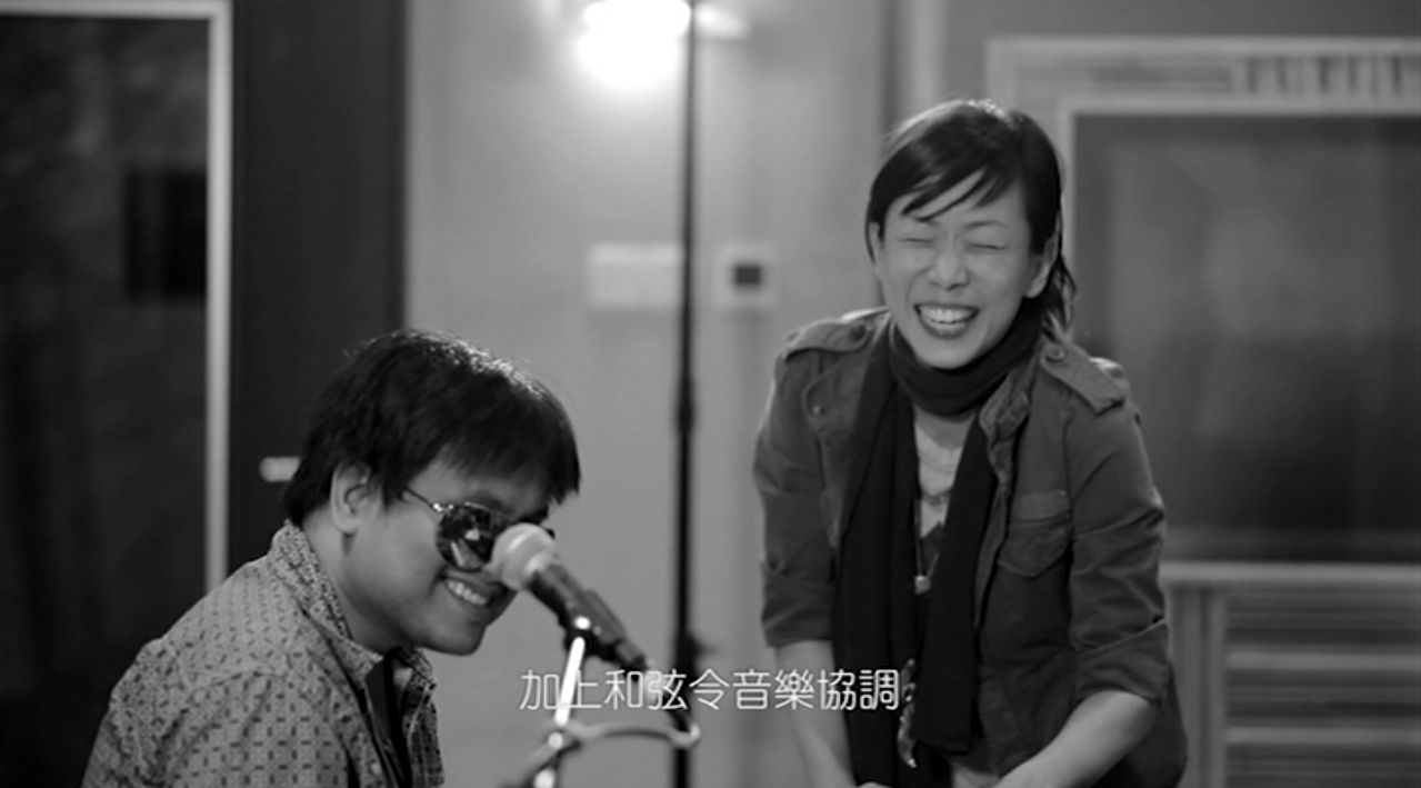Sandy Lam 林憶蓮 with MoFo Music, Kelvin Avon & Jun Kung 恭碩良 on Re:Workz recorded at Hins Cheung 張敬軒 studio
