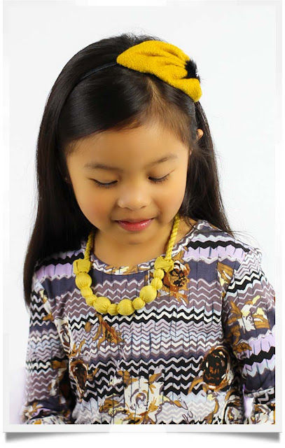Saffron Bernadette Headband | Republic of Pigtails | Chichi Mary