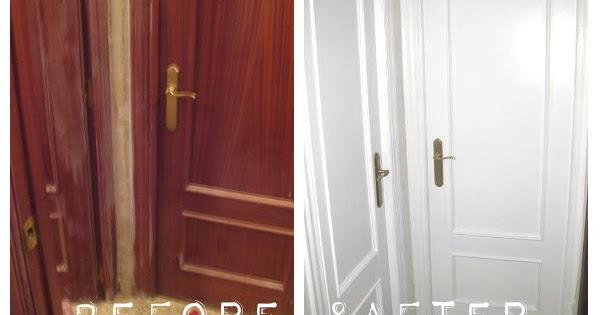 Kp decor studio c mo lacar las puertas de tu casa how enamel the doors of your house Lacar puertas en blanco