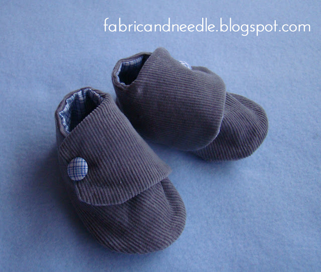 handmade fabric shoes