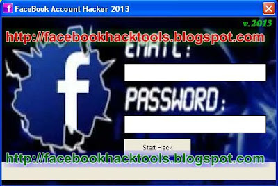 FaceBook Account Hacker 2013