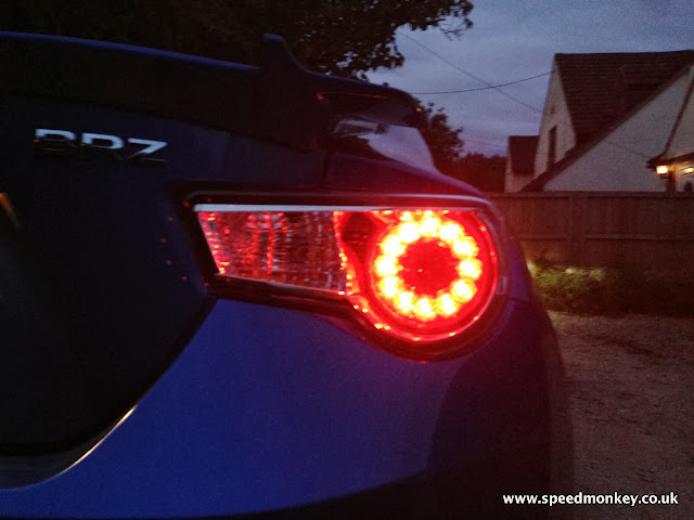 Subaru BRZ rear lights