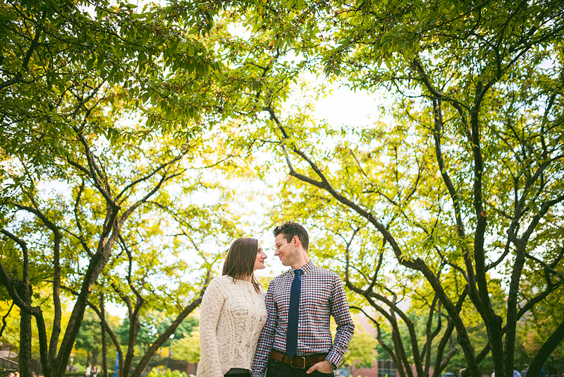 Depaul University Chicago Engagement Photo
