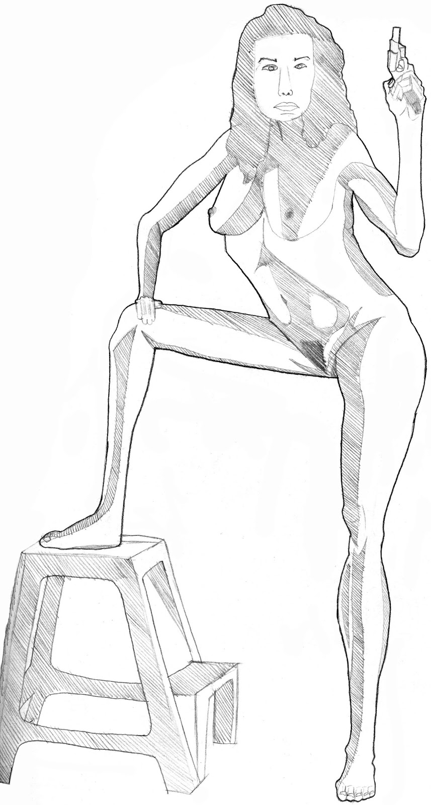 Figure Drawing For Animation Full Body Drawings