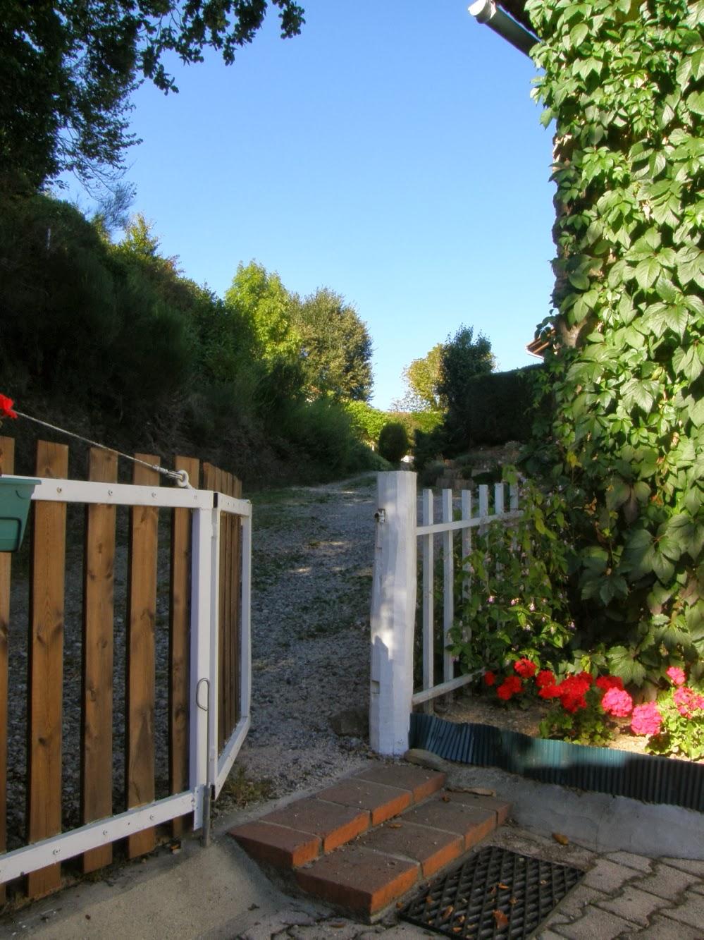 Le portillon d'accès au Fournil