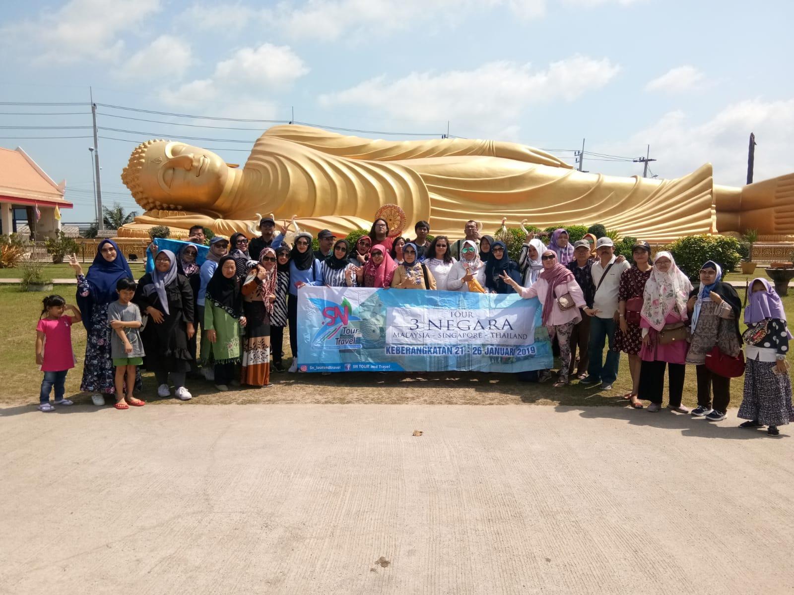 TOUR 3 NEGARA (SIN-KL-THAI) 21 - 26JAN 2019
