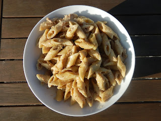 Pasta con salsa di noci