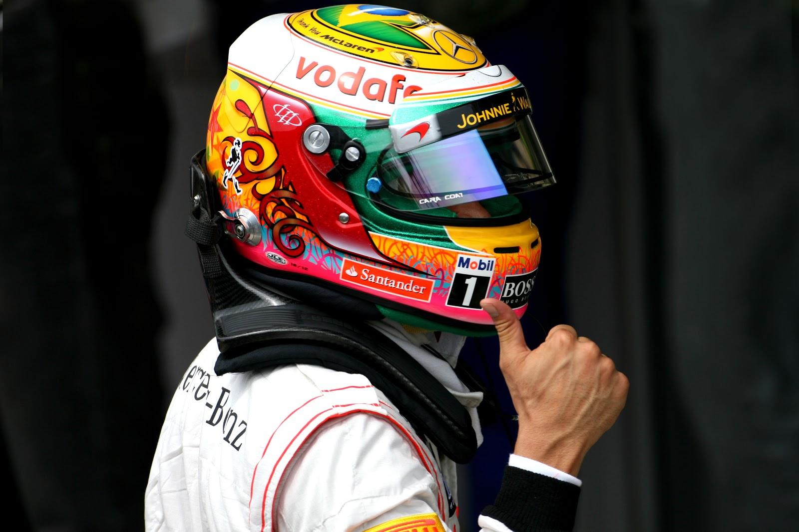 Гран-При Бразилии 2012, Квалтфикация, Результаты, Льюис Хэмильтон-лидер!