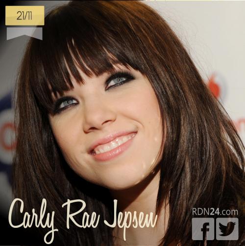 21 de noviembre | Carly Rae Jepsen - @carlyraejepsen | Info + vídeos