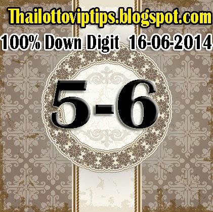 Thai Lotto Sure Down 16-06-2014