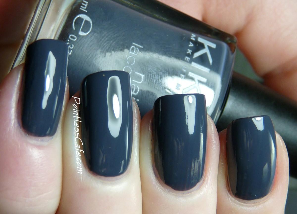 Nail of the Day: Kiko 381 Purple Grey | Pointless Cafe