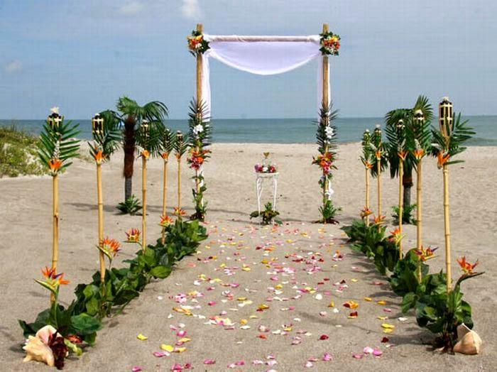 Decoracion de Bodas en la Playa, parte 4