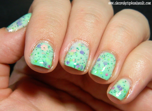 Pretty and Polished May Flowers