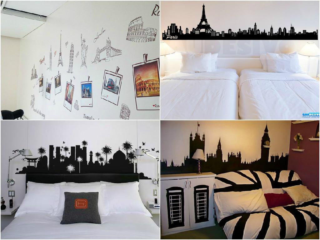 Decora o papel de parede para quartos e onde comprar - Papel para paredes ...