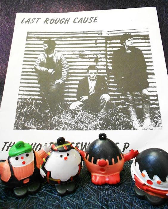 LAST ROUGH CAUSE - The violent few - 1985 LRC Records