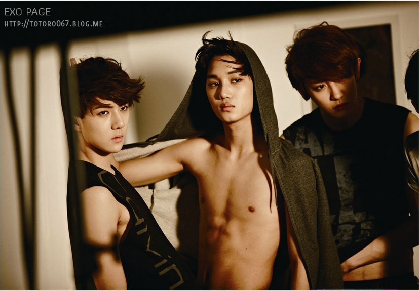 EXO-K/M Hot & sexy moments ~ 섹시한 엑소 - Hyunnie91