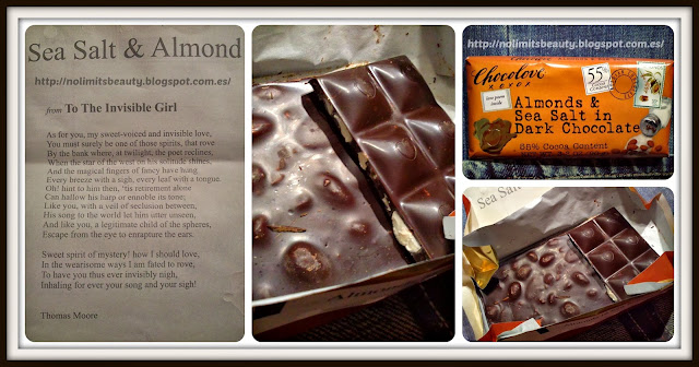 iHerb - Chocolove, Almonds & Sea Salt in Dark Chocolate, 3.2 oz (90 g)