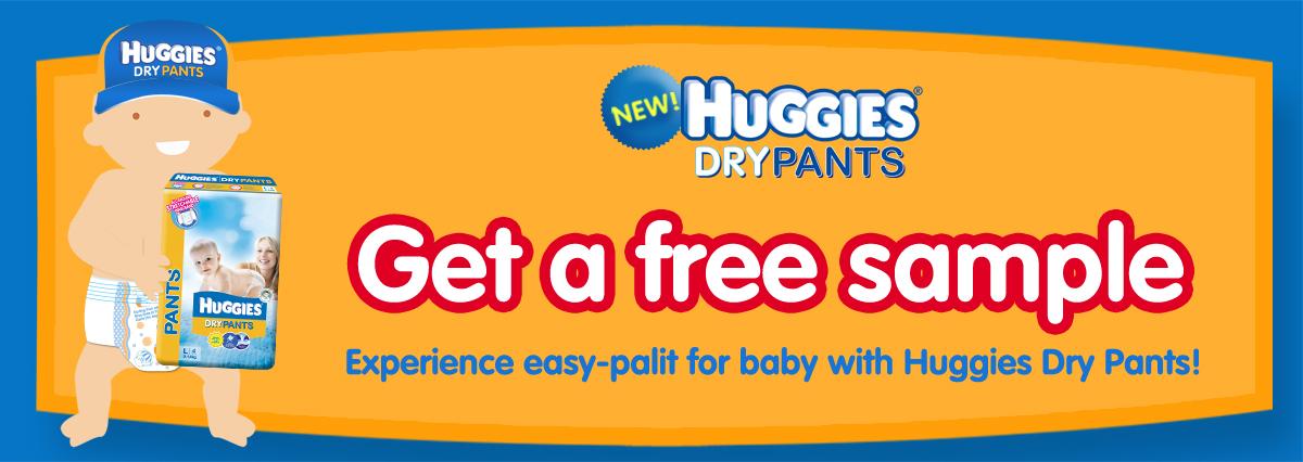 Free Huggies Diaper Samples - MomLovePassion