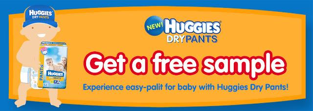 Free Huggies Diaper Samples