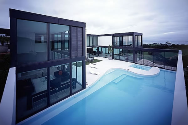 Modern House Design & Architecture Exterior - Pool | Home Decor 2012