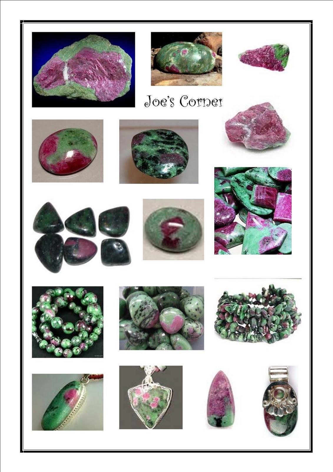gemstone healings energies ruby within zoisite anyolite