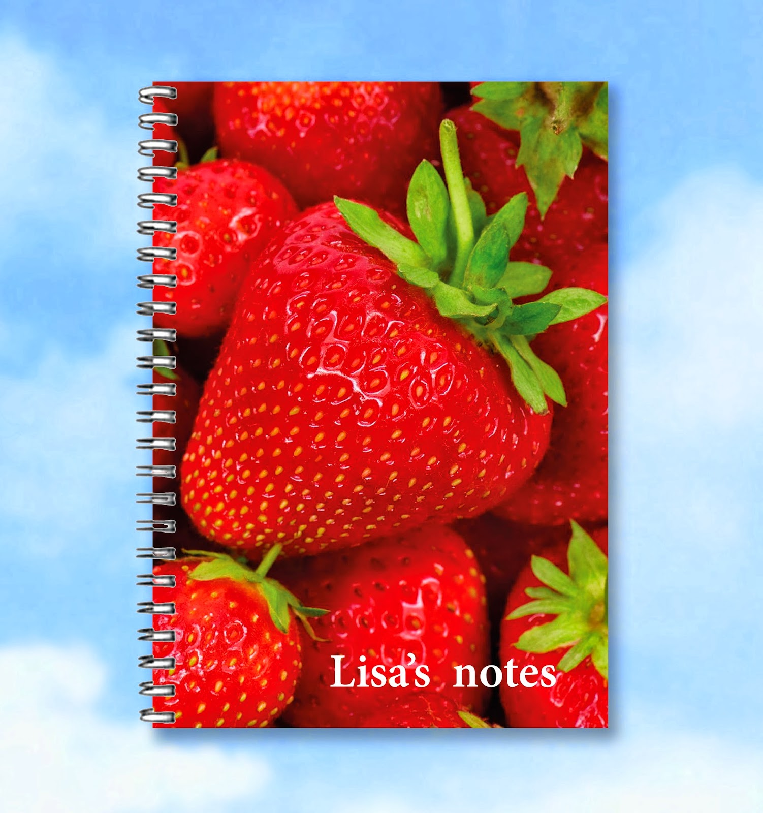 Buzz Invites personalised notebook