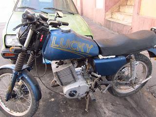 Santiago de Cuba motorcycle