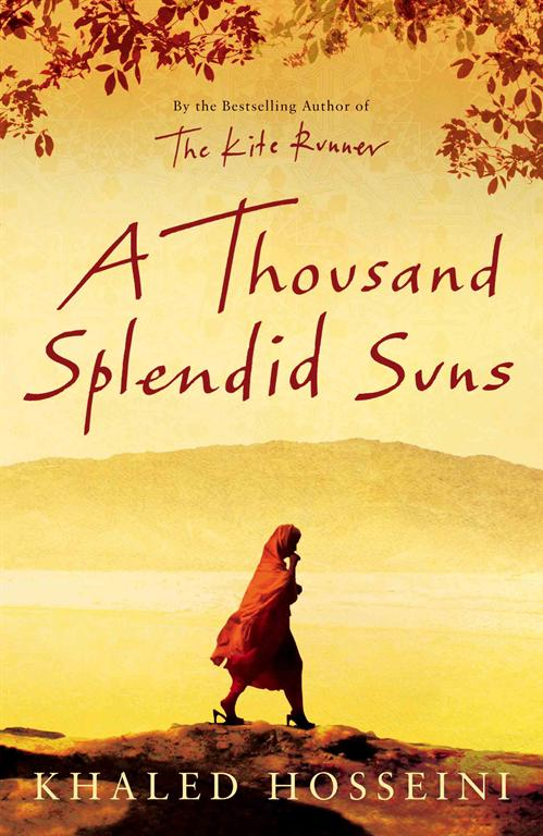 a thousand splendid suns by khaled Khaled hosseini's best seller a thousand splendid suns, which returns us to  the war-ravaged streets of kabul first visited in the kite runner.