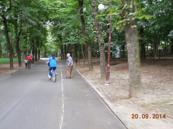 sa respectam pistele pentru biciclete