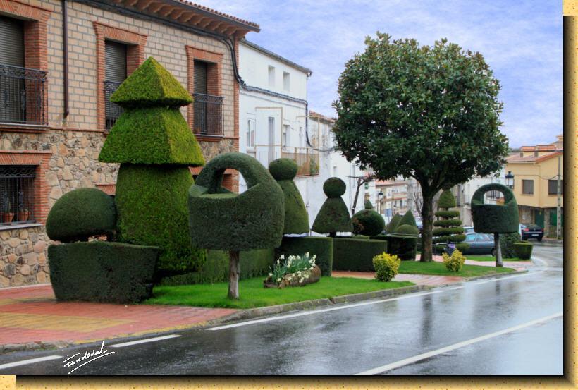 Losar de la vera un pueblo para visitar jardines de for La vera caceres