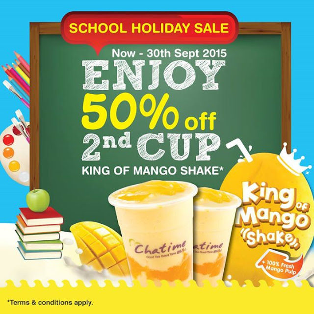Chatime | King of Mango Shake