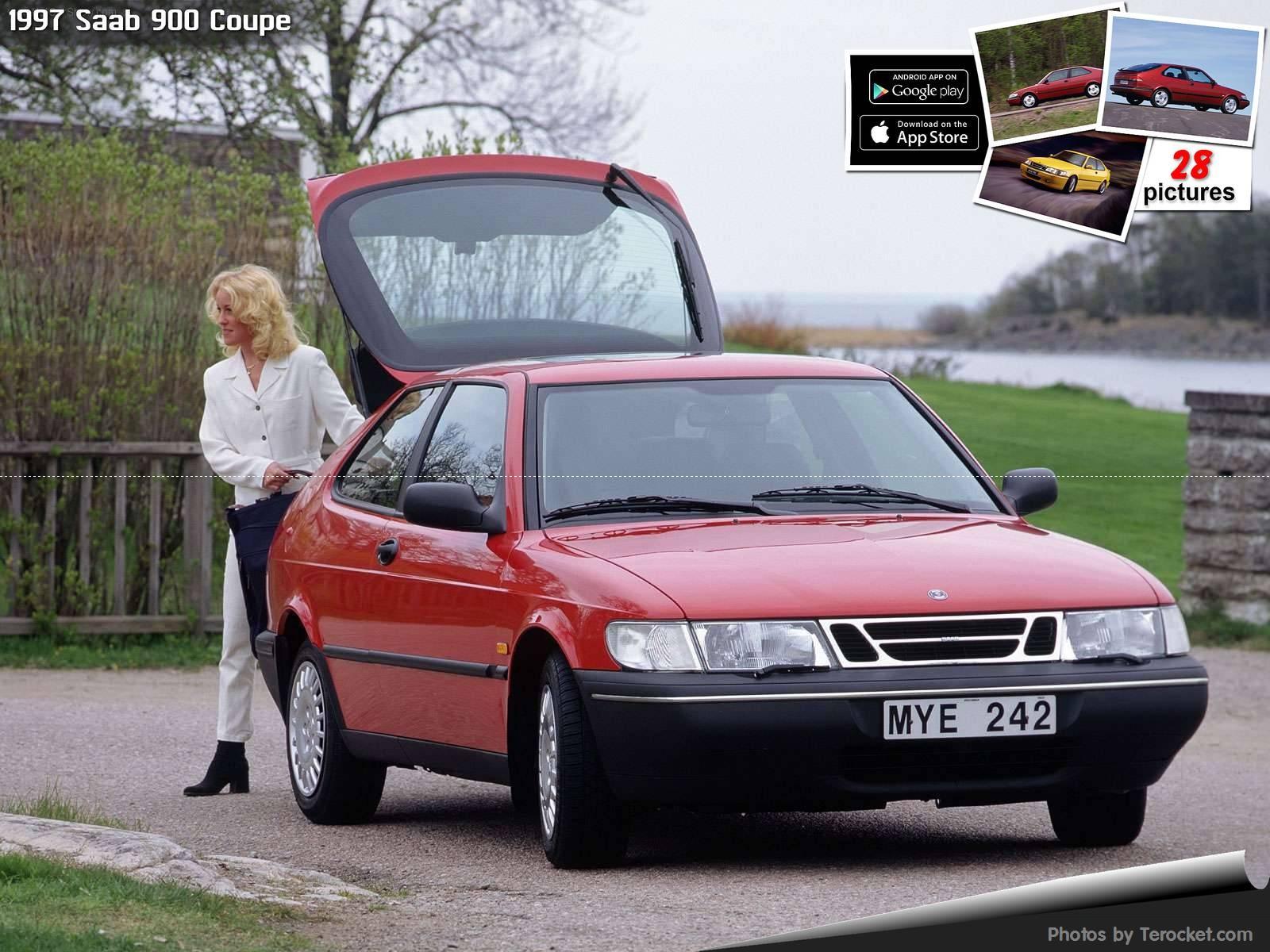 Hình ảnh xe ô tô Saab 900 Coupe 1997 & nội ngoại thất