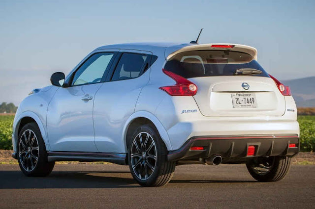 2015 new Nissan Juke edition NISMO back view