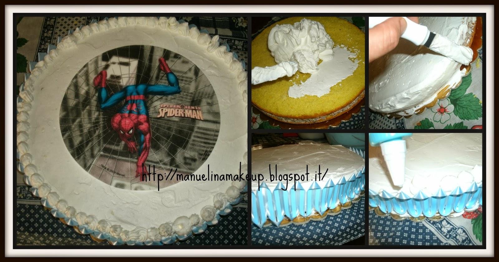 Il blog di manu un torta di compleanno per samuele for Decorazione torte spiderman