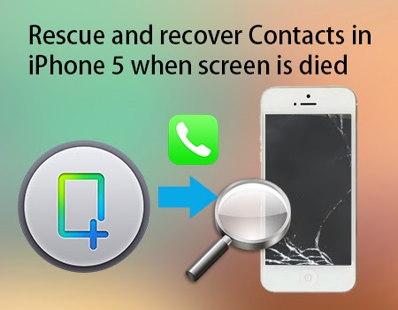 recover contacts in iphone 5
