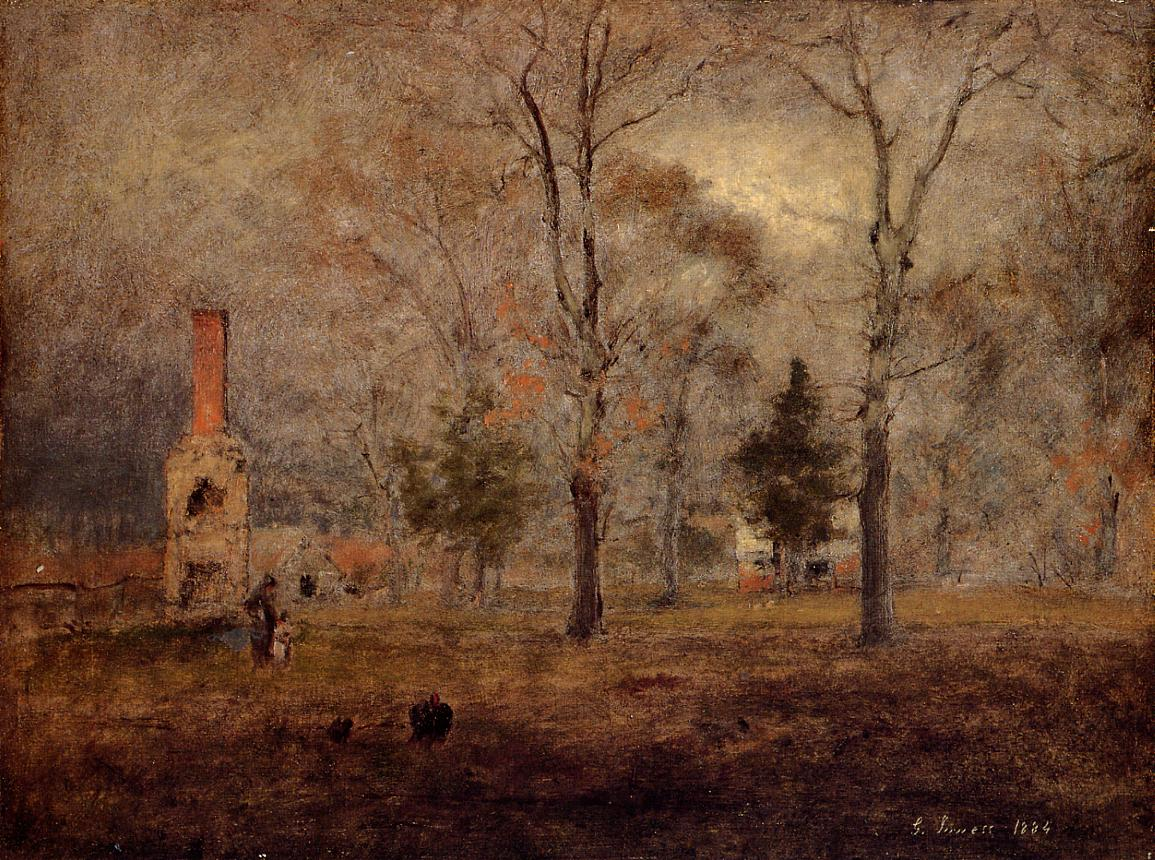 19th century American Paintings: George Inness