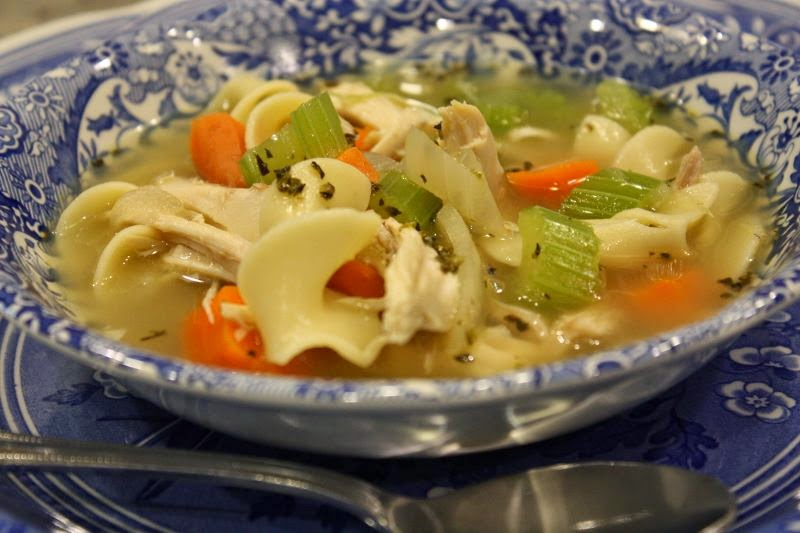 pass the peas, please: quick and easy chicken noodle soup